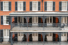 French Quarter pattern Stock Photo
