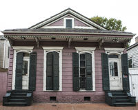 French Quarter Residence. A home in the French Quarter of New Orleans in Louisiana Royalty Free Stock Photography
