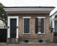French Quarter Residence. A home in the French Quarter of New Orleans in Louisiana Royalty Free Stock Photo