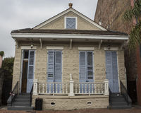 French Quarter Residence. A home in the French Quarter of New Orleans in Louisiana Royalty Free Stock Photos