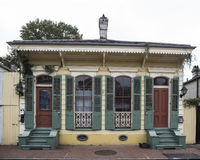 French Quarter Residence. A home in the French Quarter of New Orleans in Louisiana Stock Photography