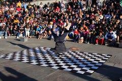 French Quarter Street Dancer Royalty Free Stock Photos
