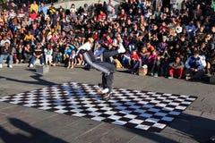 French Quarter Street Dancer Royalty Free Stock Photo