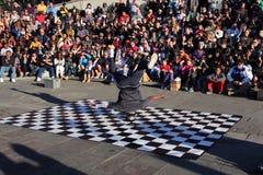 French Quarter Street Dancer Stock Images
