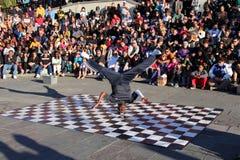 French Quarter Street Dancer Stock Image
