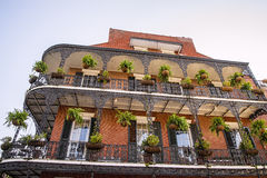 French Quarters architecture Royalty Free Stock Photo