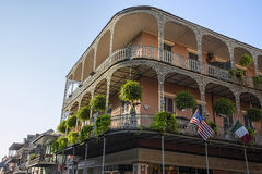 French Quarters  architecture Stock Photo