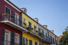 French Quarters architecture Royalty Free Stock Photography