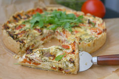 French quiche Stock Photography