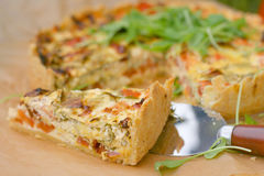 French quiche Royalty Free Stock Image