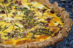 French Quiche Royalty Free Stock Photos