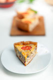 French Quiche Lorraine Stock Photos