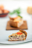 French Quiche Lorraine Royalty Free Stock Images
