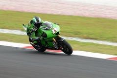 French Randy de Puniet Dunlop Yamaha 2007 Polini M Stock Photography