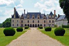 Beauregard castle and parc stock image