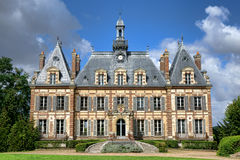 French Renaissance Revival Antique Mansion Castle Royalty Free Stock Photos