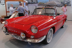 French Renault Caravelle at the beach Stock Image
