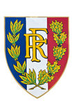 French republic coat of arms Royalty Free Stock Photos