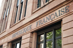 French republic Royalty Free Stock Images