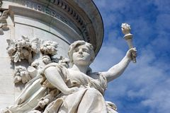The French Republic Royalty Free Stock Photos