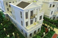 French residence model Stock Image