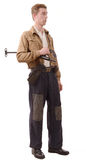 French Resistance, vintage clothes and weapons, Royalty Free Stock Image