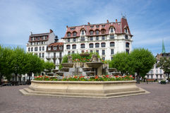 French resort Aix-Les-Bains Royalty Free Stock Images