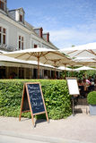 French restaurant Royalty Free Stock Photography