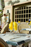 French restaurant Royalty Free Stock Photos