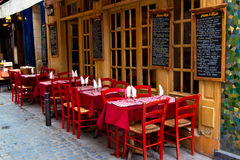 French restaurant Stock Photos