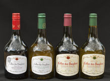 French Rhone wine Royalty Free Stock Photos