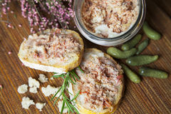 French rillettes  Royalty Free Stock Images