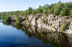 French river Royalty Free Stock Images
