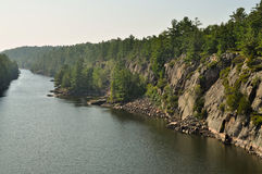 French River - heritage river in Ontario Royalty Free Stock Images