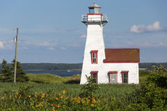 French River Lighthouse Royalty Free Stock Photography