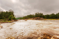 French river, Ontario, Canada. Landscape view at the French river in Ontario, Canada Royalty Free Stock Photo