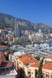 French riviera. Cityscape of the principality Monaco, french riviera, Europe Stock Photos