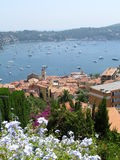 French Riviera. Saint Jean Cap Ferrat on the French Riviera in summer Stock Photo