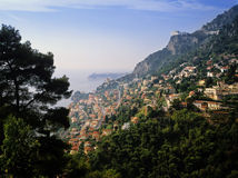 French riviera. The french riviera provence riviera alpes-maritime france Stock Photo