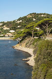 French riviera. View from high Stock Photos