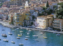French riviera. Villefranche sur mer alpes maritime french riviera cote d'azur provence france europe Stock Photos