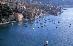 French riviera. Villefranche sur mer alpes maritime french riviera cote d'azur provence france europe Stock Photography