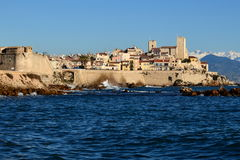 French riviera, Antibes, Old town, museum Royalty Free Stock Images