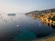 French Riviera: Bay of Villefranche-sur-mer Royalty Free Stock Photo