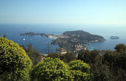 French Riviera - beautiful Saint-Jean-Cap-Ferrat Royalty Free Stock Images