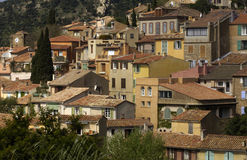 French Riviera, Bormes les Mimosas Stock Image