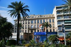 French Riviera, cityscape of Nice France Stock Images