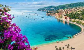 Free French Riviera Coast Stock Photography - 138435542