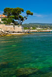 French Riviera Coast Royalty Free Stock Photo