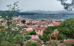 French Riviera in Europe Stock Image